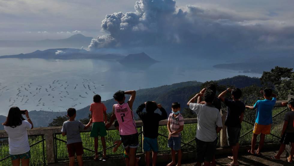 Máxima alarma en Filipinas