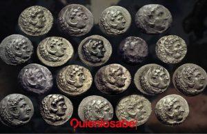 monedas de alejandro magno
