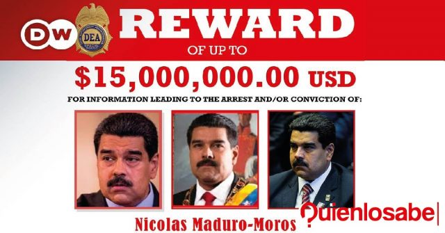 Maduro recompensa
