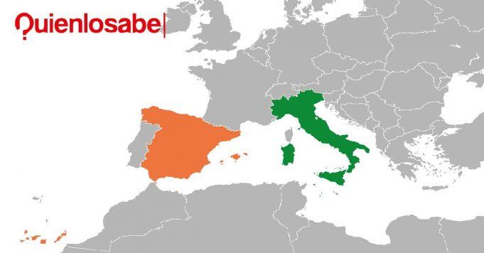 Italia y España coronavirus
