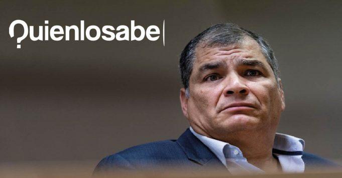 Rafael Correa cárcel sobornos
