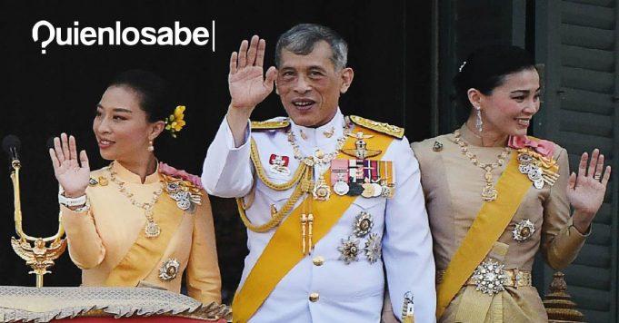 Rey de Tailandia 20 mujeres