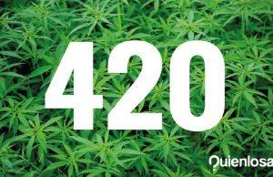 Qué significa 420 marihuana