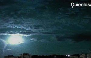 Meteorito Brasil imágenes