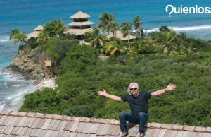 Richard Branson isla privada