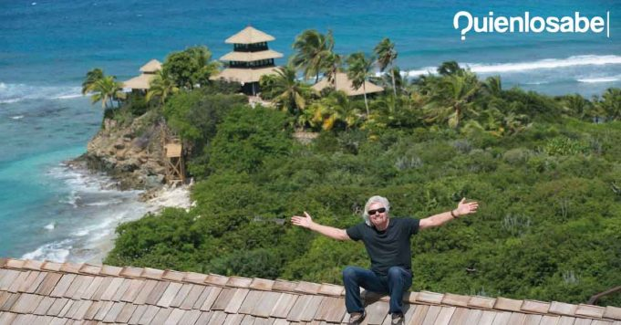 Richard Branson isla privada