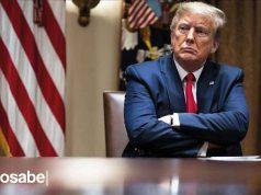 Donald Trump Usa mascarilla