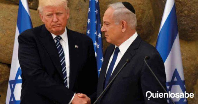 Fracasa Donald Trump Israel