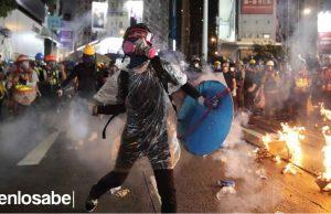 China Hong Kong fuerza