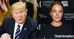 Lindsay Lohan Trump Audio