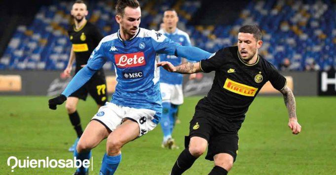 Trận đấu giữa Napoli và Inter
