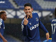 Real Madrid James Rodríguez Everton