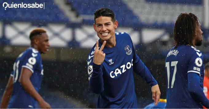 Real Madrid James Rodríguez Everton