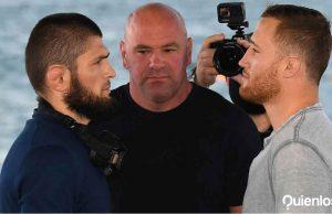 UFC 254 Khabib Gaethje