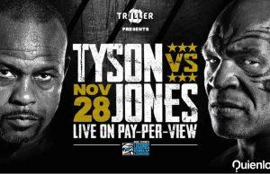Mike Tyson cómo ver pelea