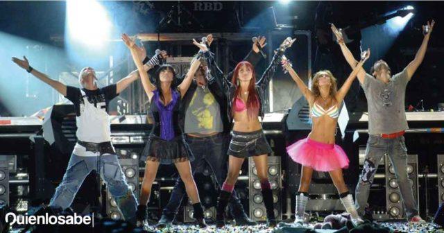 RBD concierto