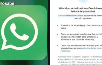 Términos y condiciones Whatsapp