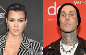 Travis Barker y Kourtney Kardashian