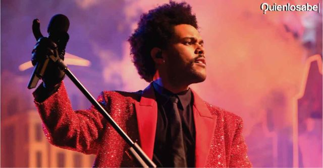 The Weeknd Super Bowl ver