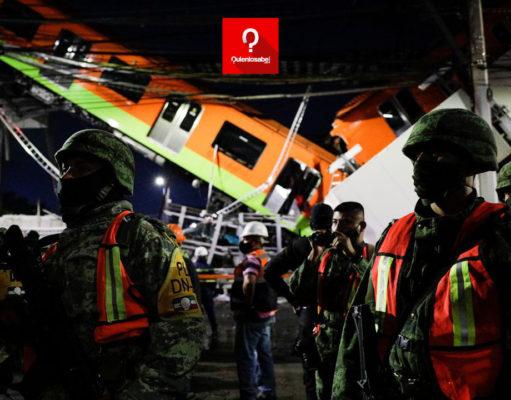 Обрушение моста в Мексике