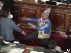 Bolivia pelea congreso