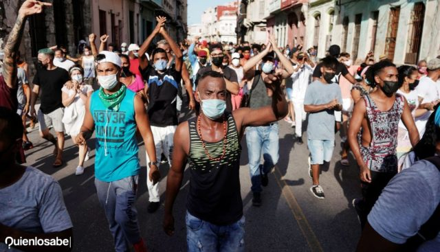 por qué hay protestas en Cuba
