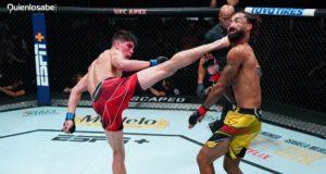 Ignacio Bahamondes patada UFC