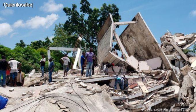 Terremoto Haití fallecidos