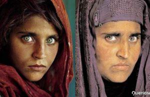 niña de la portada de National Geographic