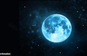 qué es la luna azul