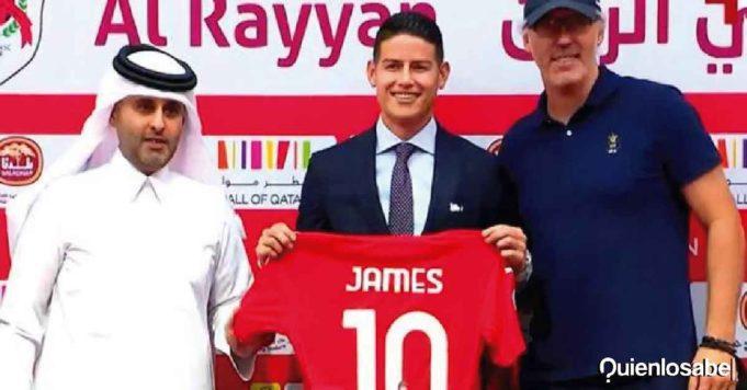 James Rodríguez Qatar